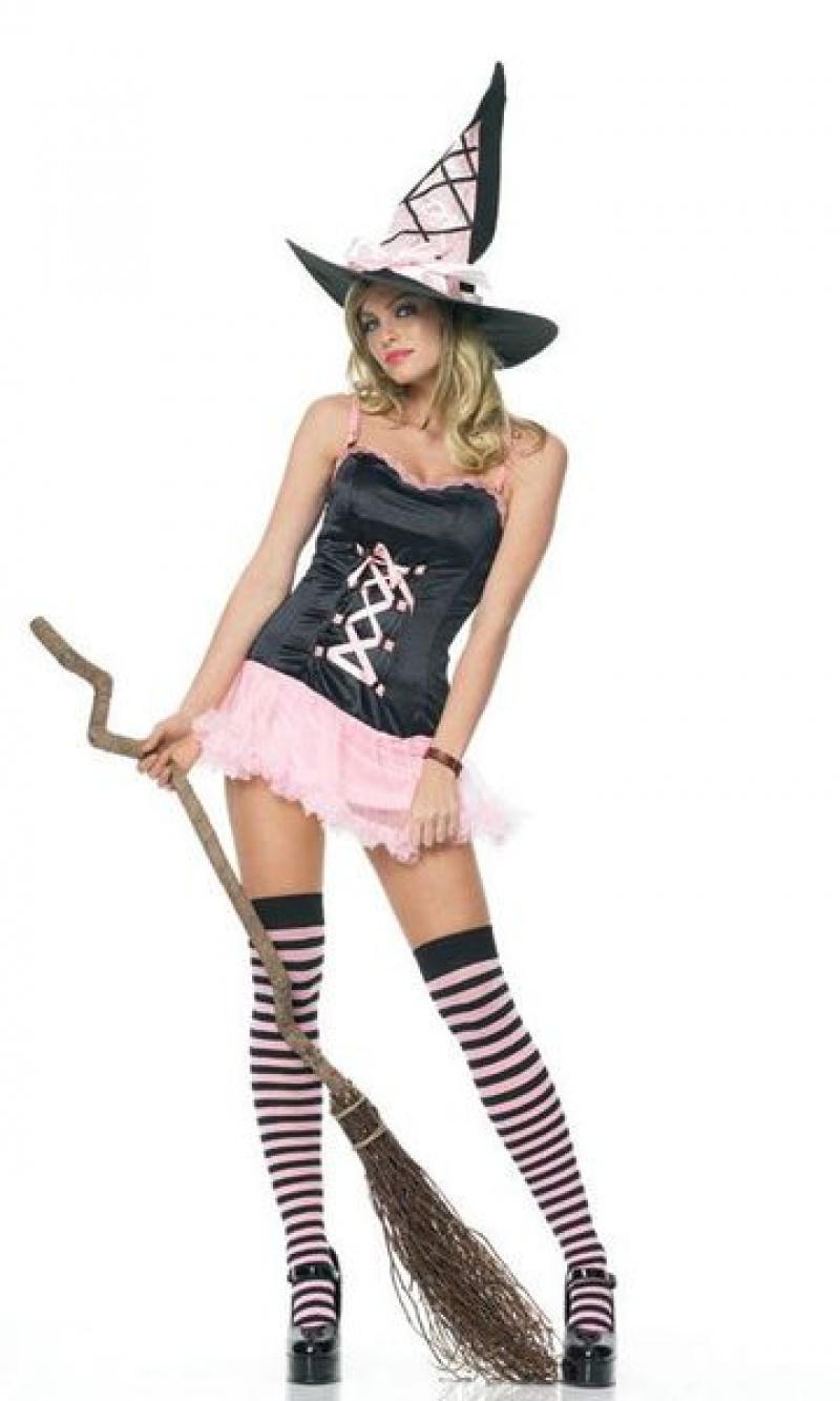 Сделай сам костюм на хэллоуин ведьма