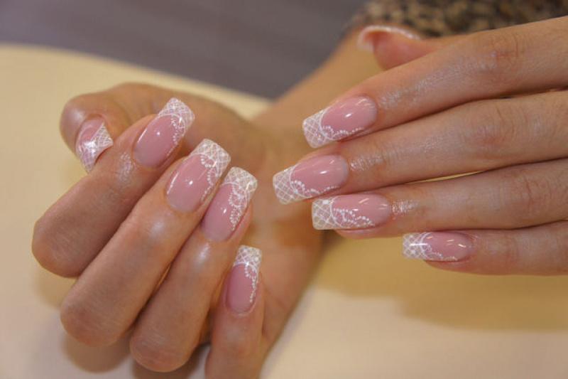 Фото ажурный дизайн ногтей